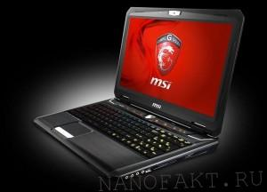 ноутбук с ЗК-дисплеем