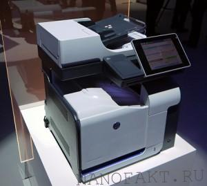 Hp laserjet enterprise серии flow