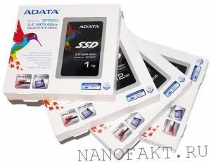 Обзор SSD ADATA