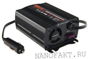 Аксессуары для авто - автомобильный инвертор и внешние аккумуляторы