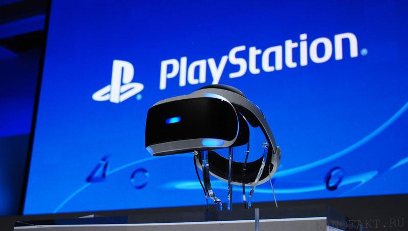 Sony в марте представит PlayStation VR