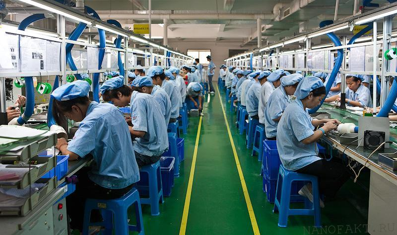 Китай лидер индустрии мобильных телефонов