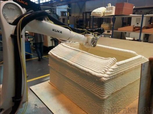 3D-печать как технология нового поколения в области строительства