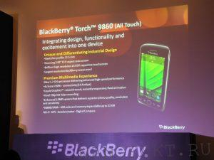 процессор Blackberry Torch 9860