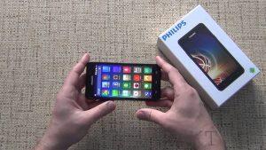 Обзор смартфона Philips Xenium V526