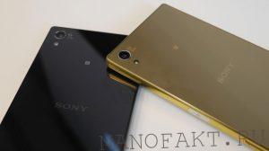 дисплей смартфона Sony Xperia Z5
