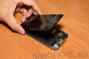 Установка дисплея iPhone 3G