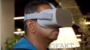 Беспроводные очки виртуальной реальности Mark IV